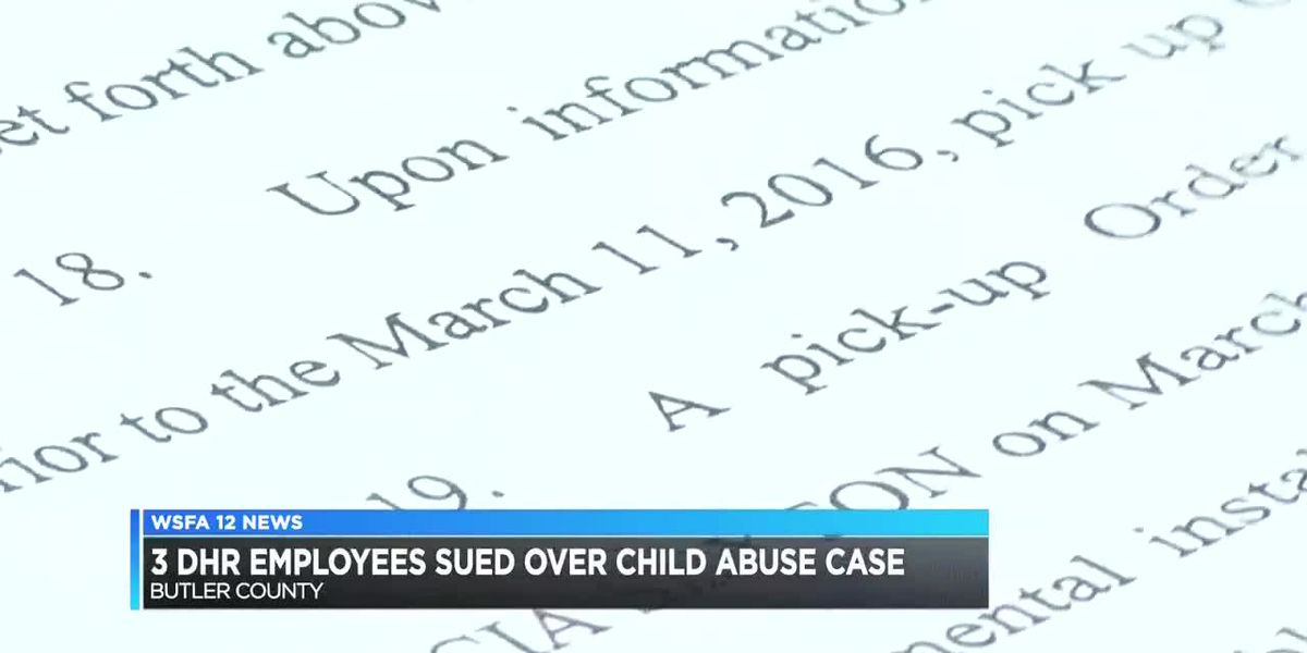 Butler County DHR employees sued for negligence following child sex abuse case