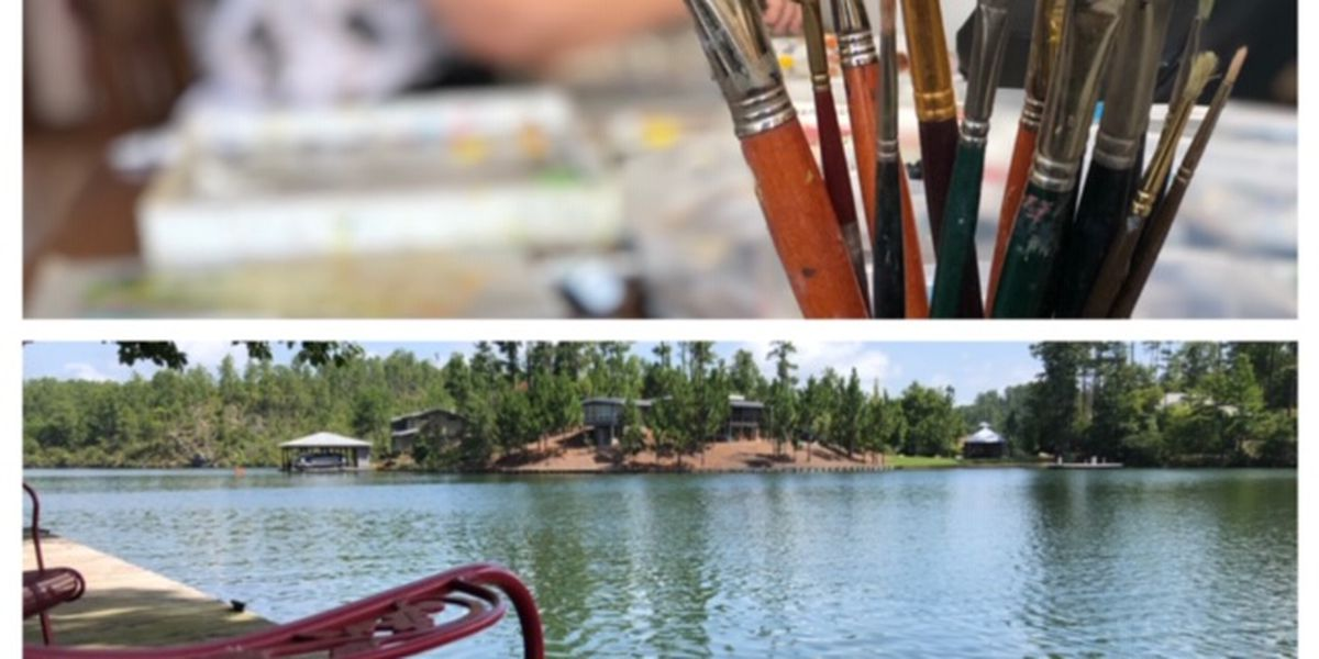 County Road 12: Lake Martin artist retreat