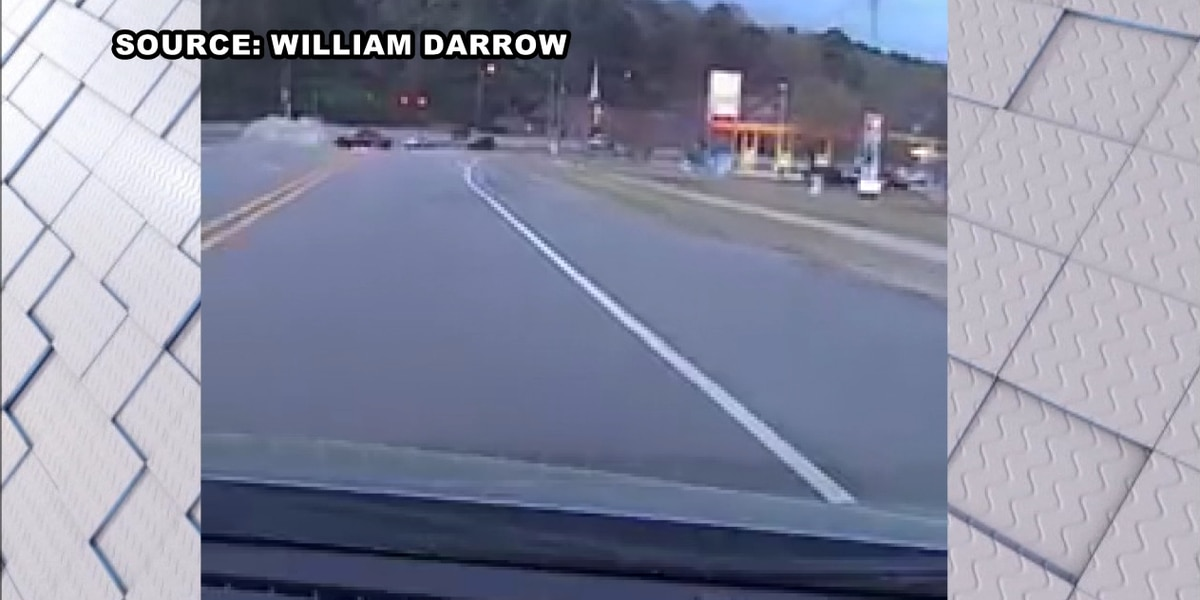 Dangerous driving caught on video in Clay