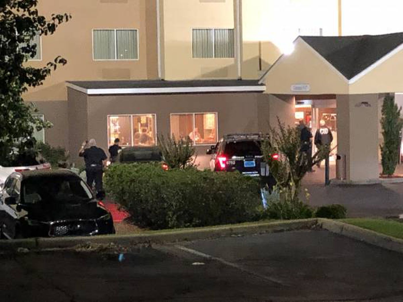 Dothan police responded to the Fairfield Inn on Ross Clark Circle in the early morning hours, where a woman was injured in a shooting.