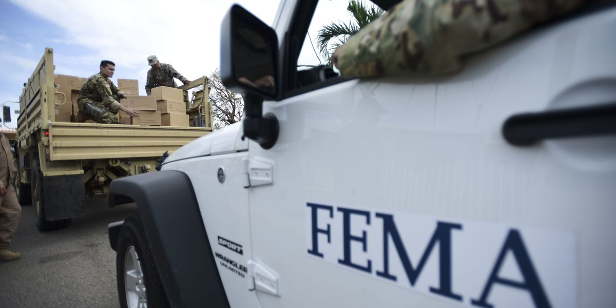 FEMA stages supplies at 2 Montgomery locations