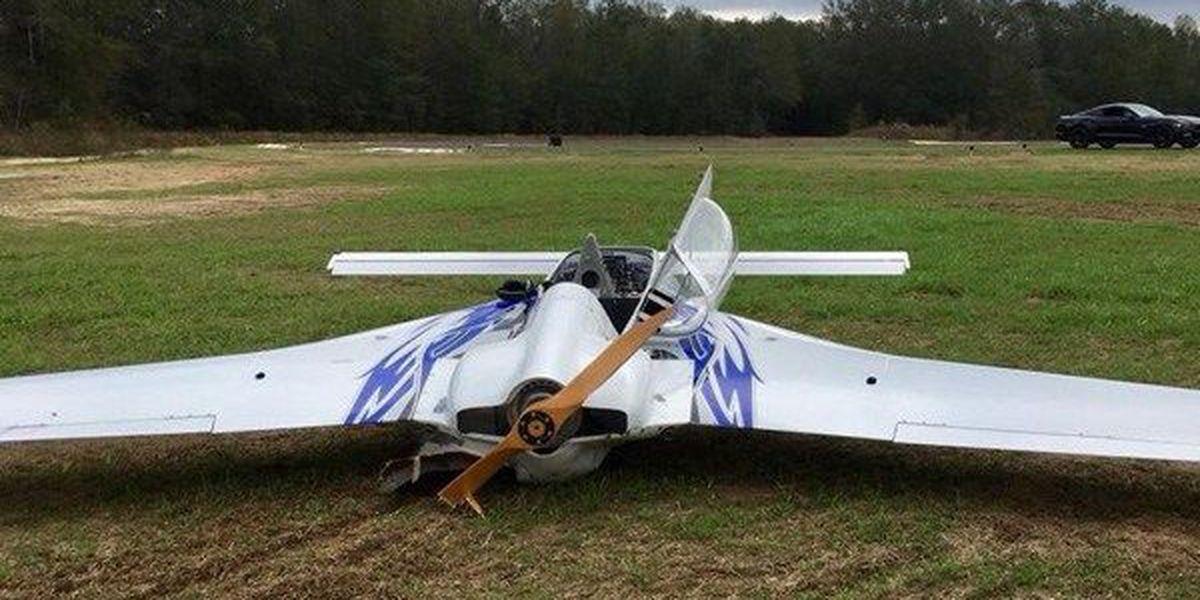 Small plane crashes in Eufaula Saturday morning