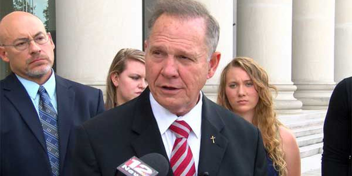 Suspended AL Chief Justice Roy Moore interviewed for Sessions' seat