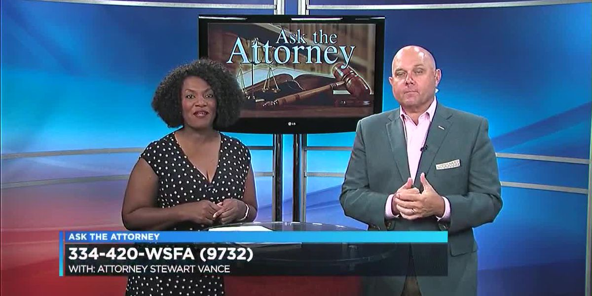 Ask the attorney - Stewart Vance Part 2