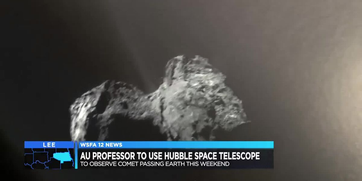 Auburn professor using Hubble to view comet