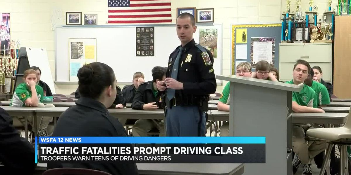 Teen drivers learn driving dangers