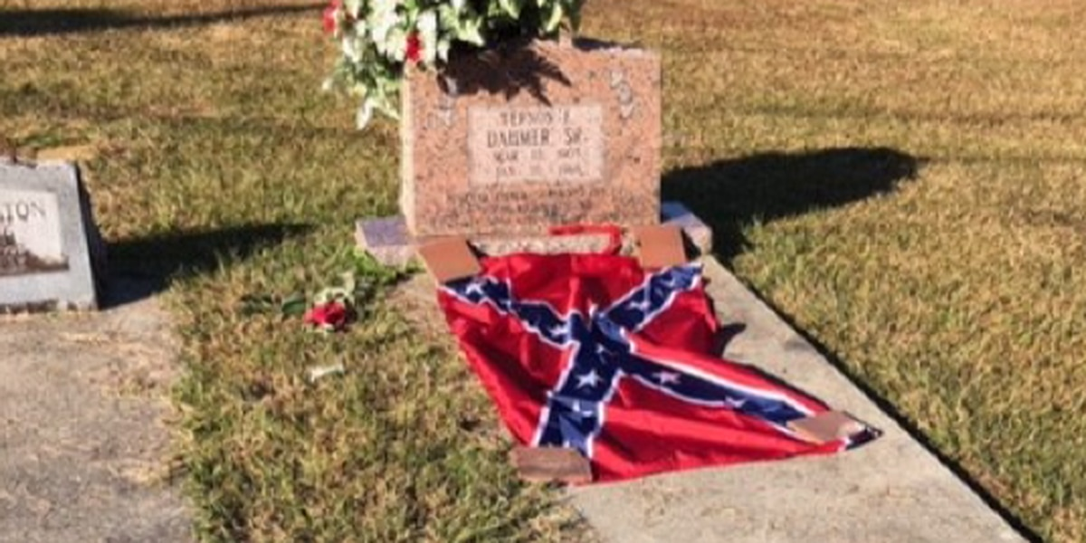 Woman uses Confederate flag, noose to show burden of racism