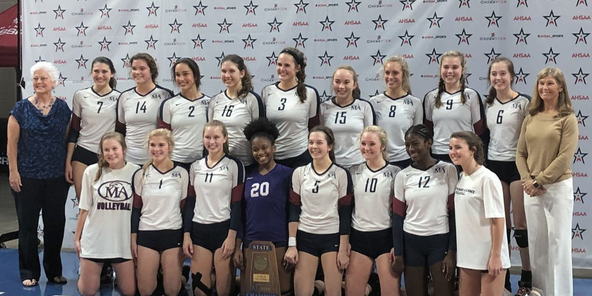 Montgomery Academy brings home 3A Volleyball State Championship