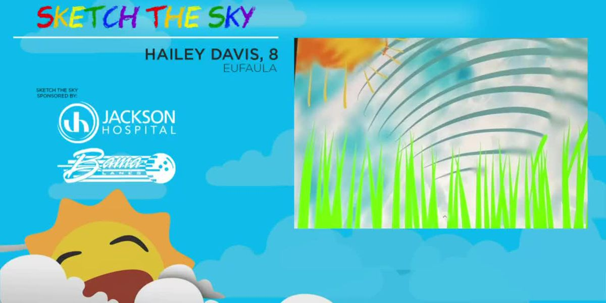 Sketch the Sky winner: Hailey Davis