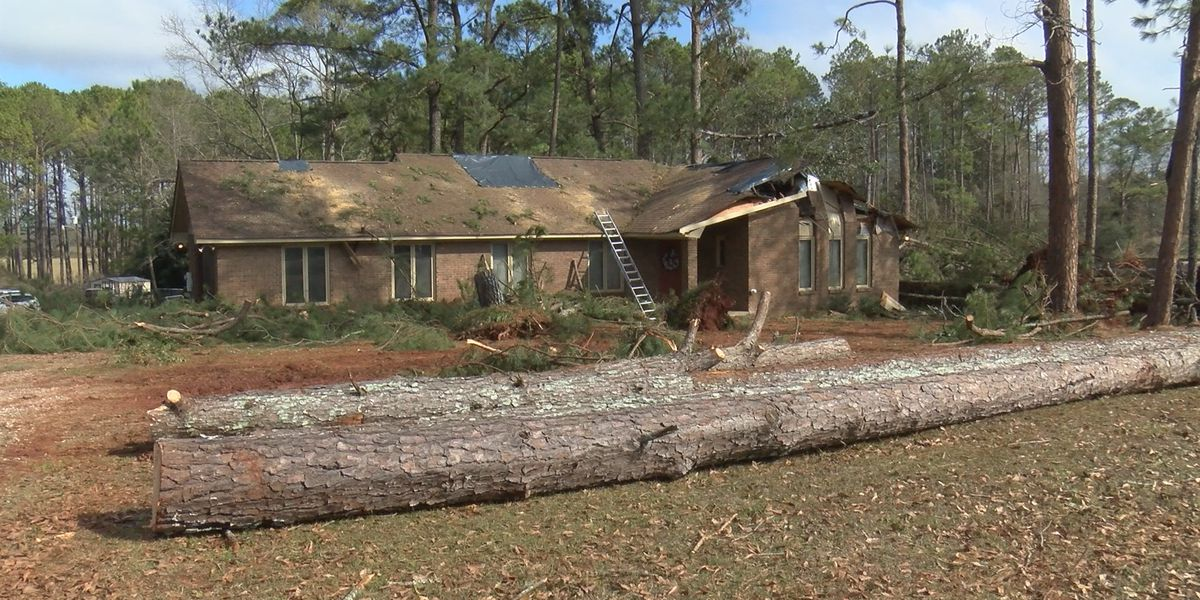Strong winds cause damage in Butler County