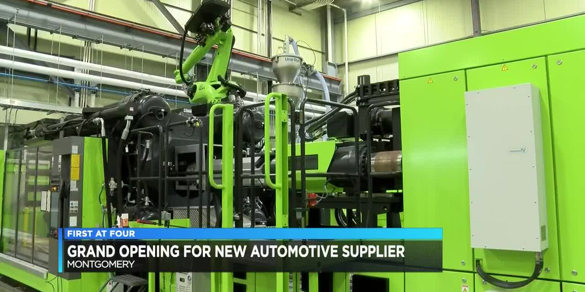 Grand opening held for new automotive supplier