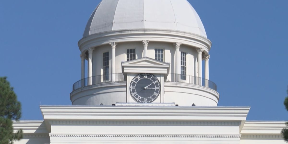 Alabama lawmakers return for final day of session