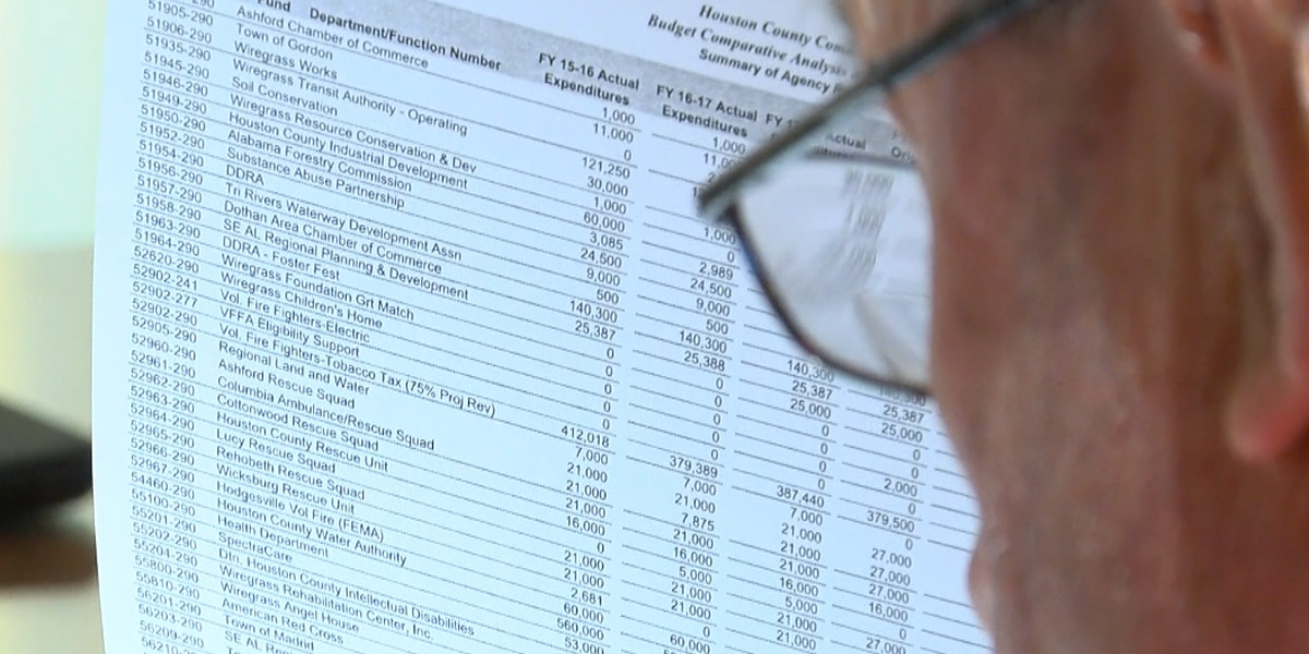 Houston County commissioners closer to nailing down budget