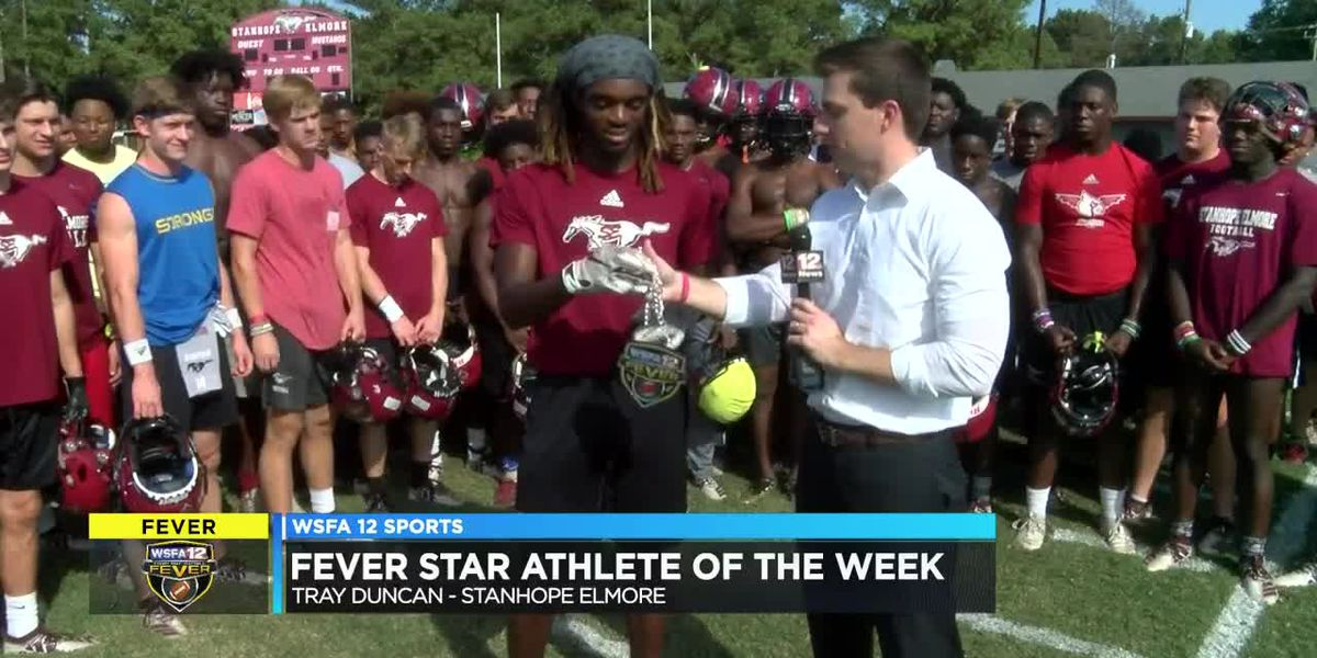 Tray Duncan wins Fever Star Athlete of the Week