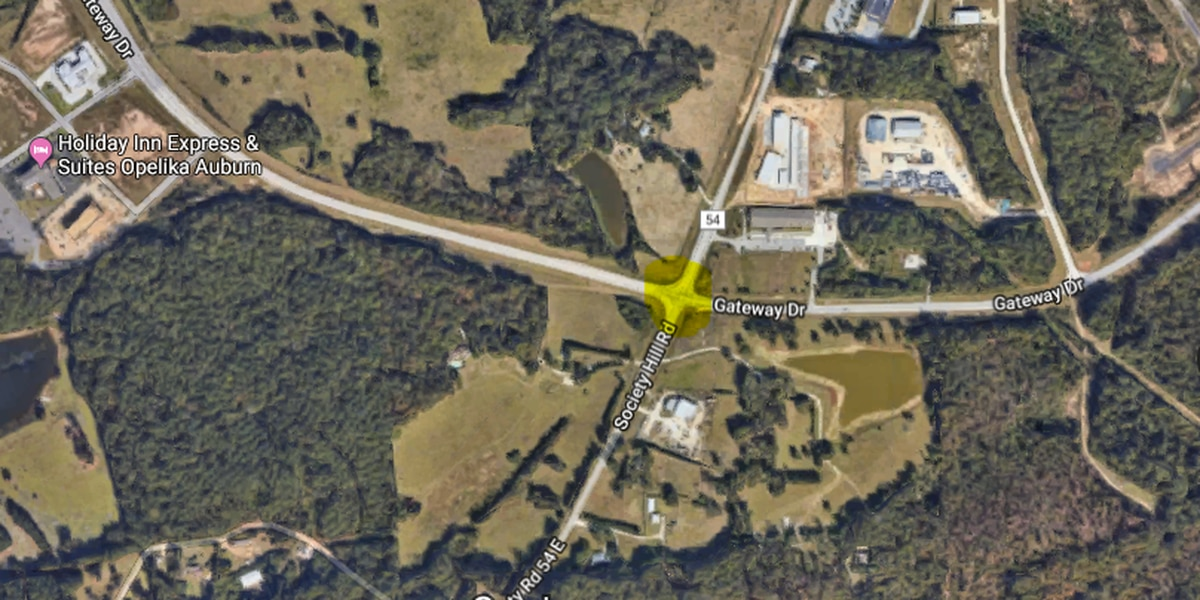 Opelika plans to build a new roundabout intersection