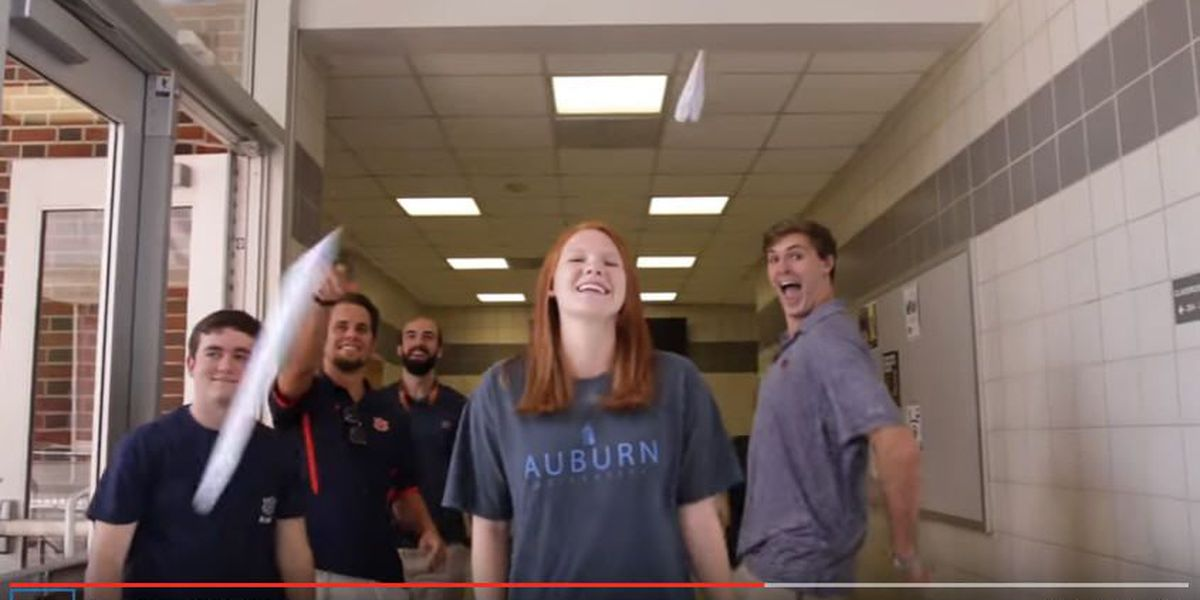 Auburn engineering students 'Can't Stop the Feeling'