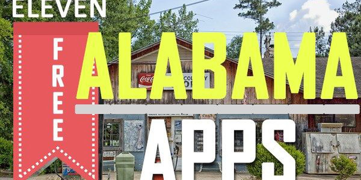 11 FREE apps to try in Alabama this summer!
