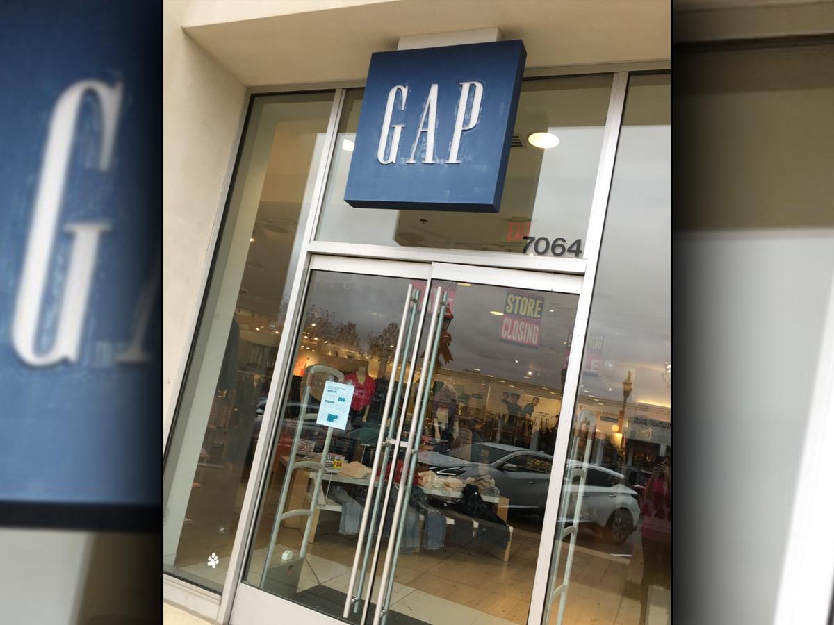 Gap, Motherhood Maternity closing at The Shoppes at EastChase