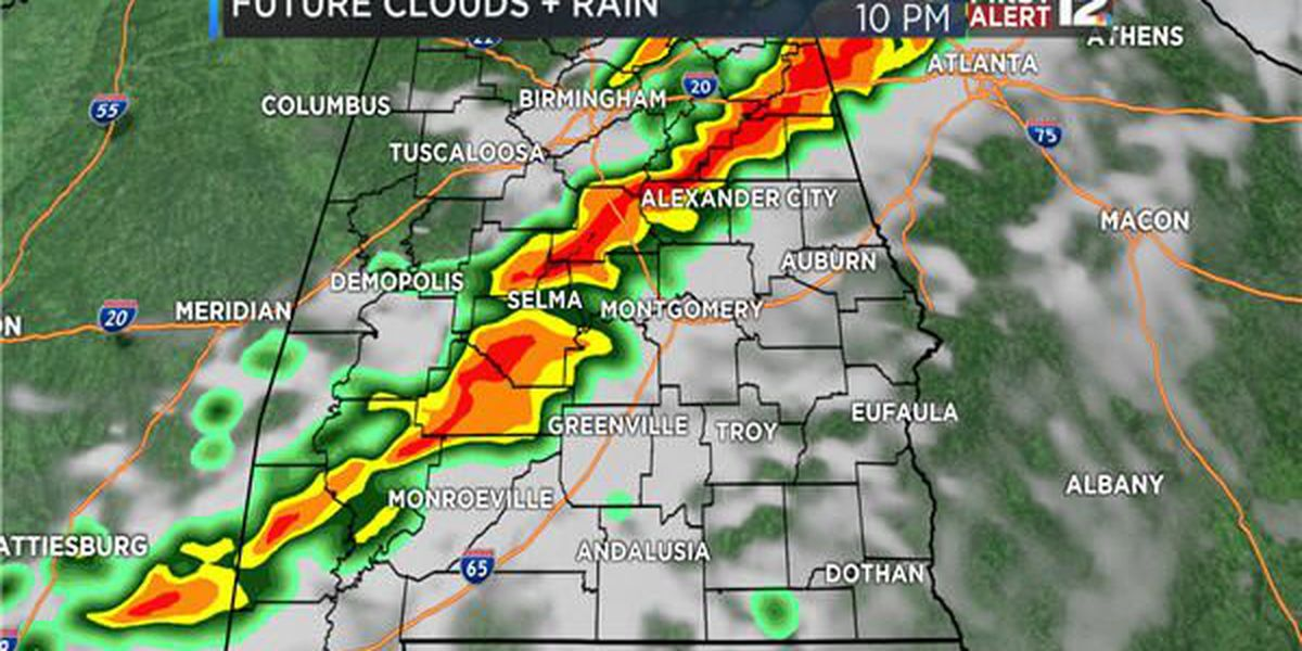 Weather Blog: Next cold front Wednesday night