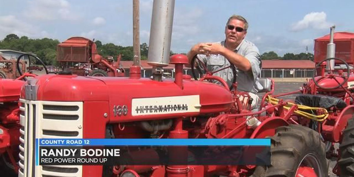 CR 12: Tractors take over Montgomery for Red Power Round-Up