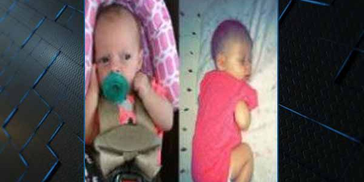 Amber Alert canceled for Mobile infant