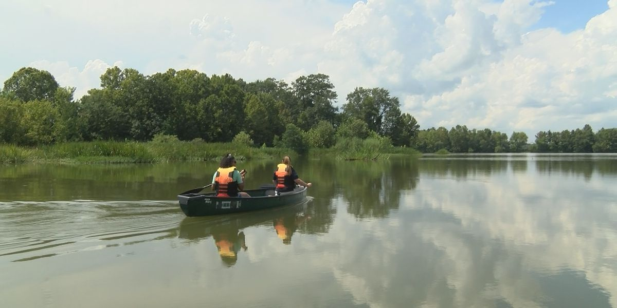 Hiking with Hailey: Canoeing at Roland Cooper State Park