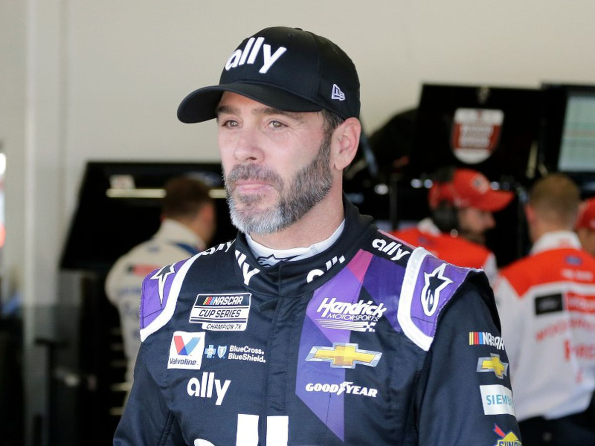 NASCAR driver Jimmie Johnson tests positive for coronavirus