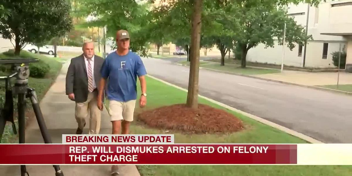 Ala. Rep. Will Dismukes arrested on theft charge