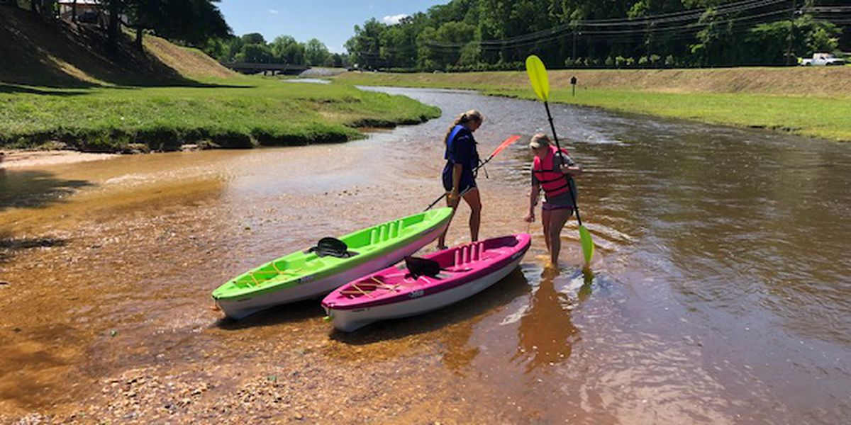 Cool ride down the Autauga Creek Canoe Trail