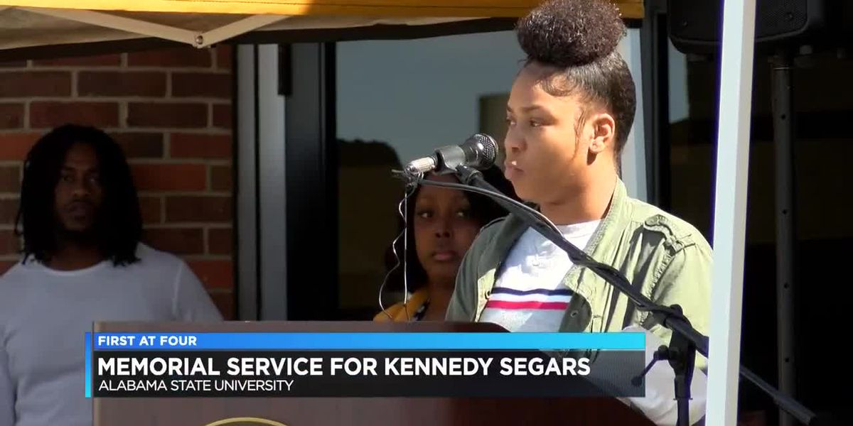 Memorial service held for Kennedy Segars at ASU