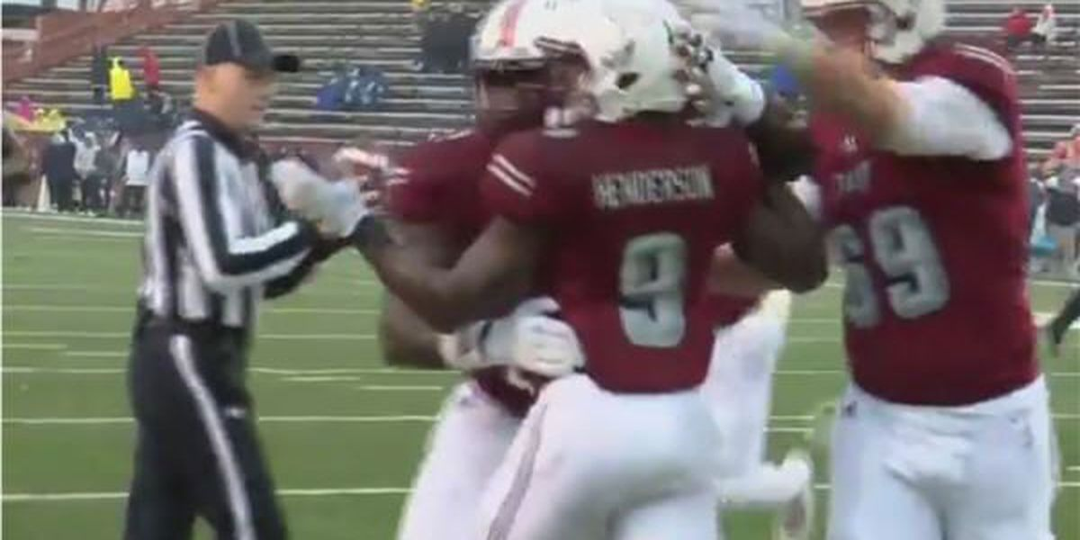 Troy rolls to 38-16 win in rain on Homecoming over Ga. Southern