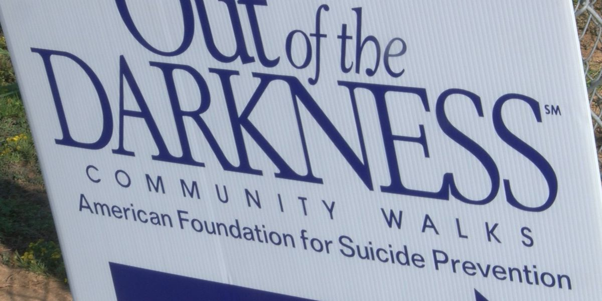 2019 Out of Darkness Dothan Walk happening Sunday