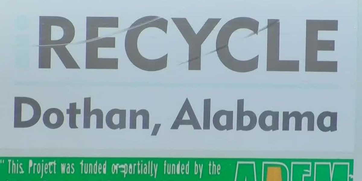Dothan officially re-opens Westgate recycling center