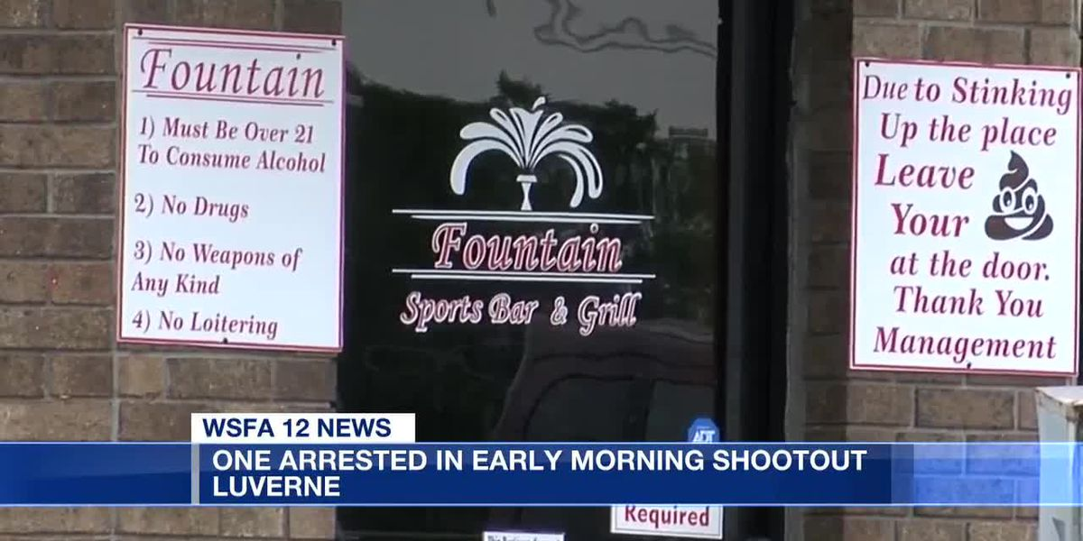 Arrest made in shootout at Luverne bar