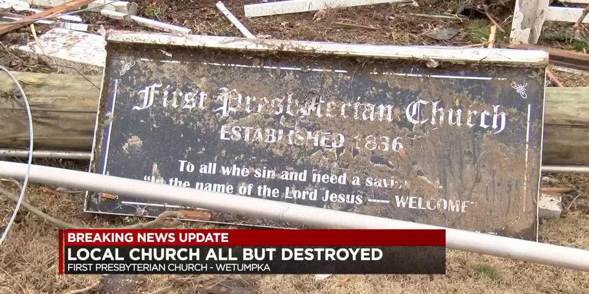 First Presbyterian Church destroyed, pastor reflects
