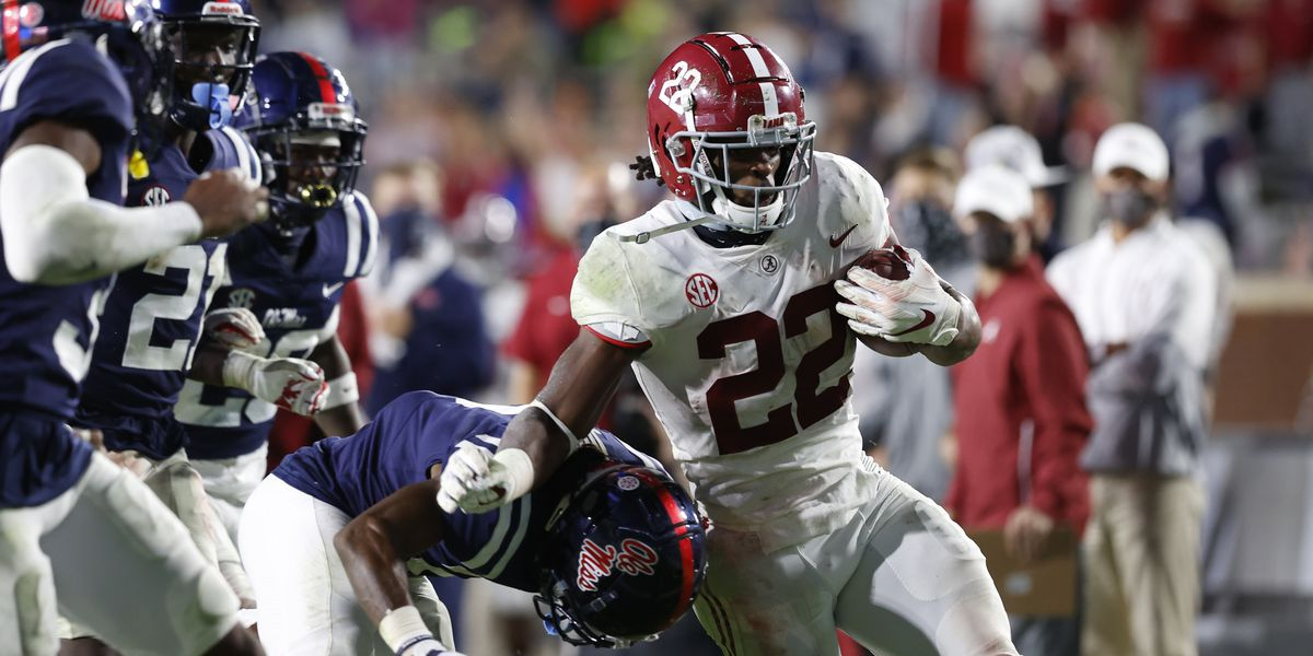 Alabama comes out on top in back and forth battle against the Rebels