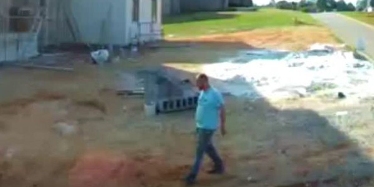 Prattville police looking for construction site thief