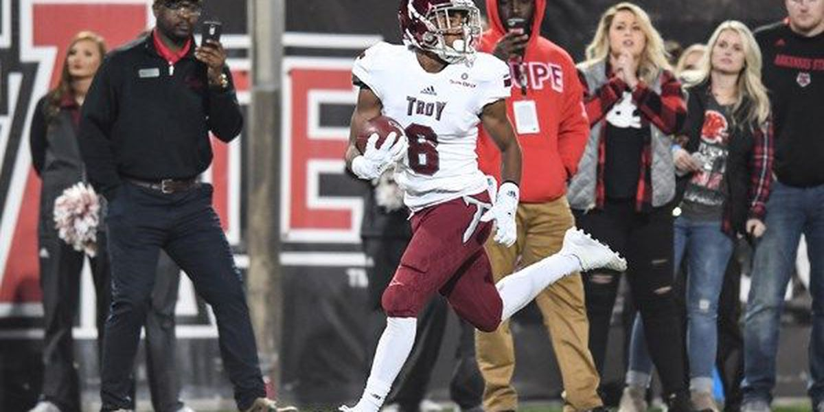 Troy's Marcus Jones earns Special Teams POTW honors