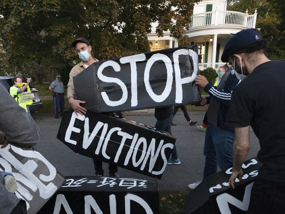Justice Dept. to appeal judge's order on eviction moratorium