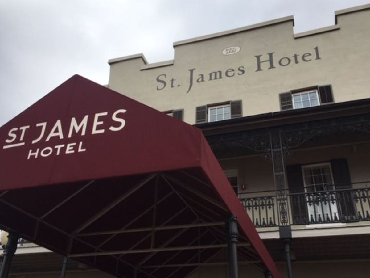 Historic St. James Hotel in Selma reopens