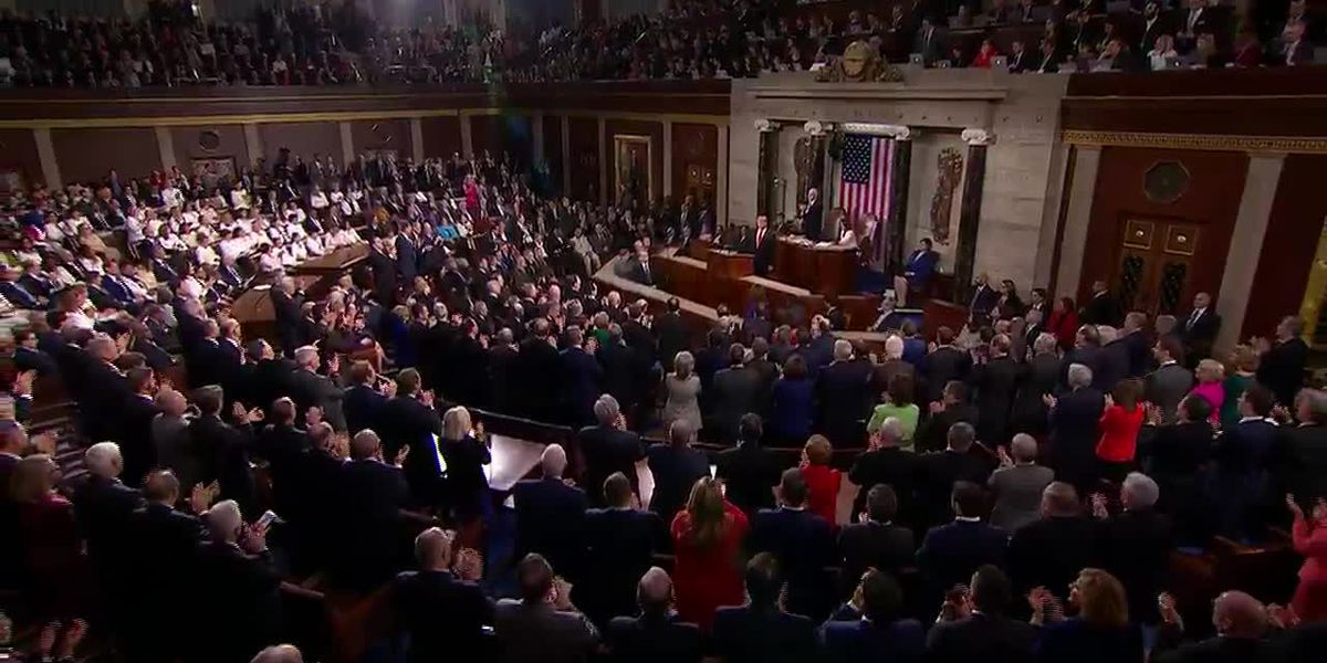 Alabama leaders react to President Trump's second State of the Union