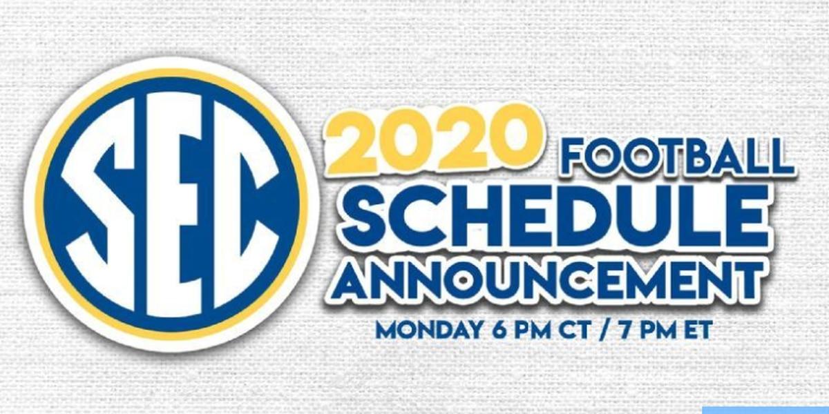 SEC unveils opening week college football schedule