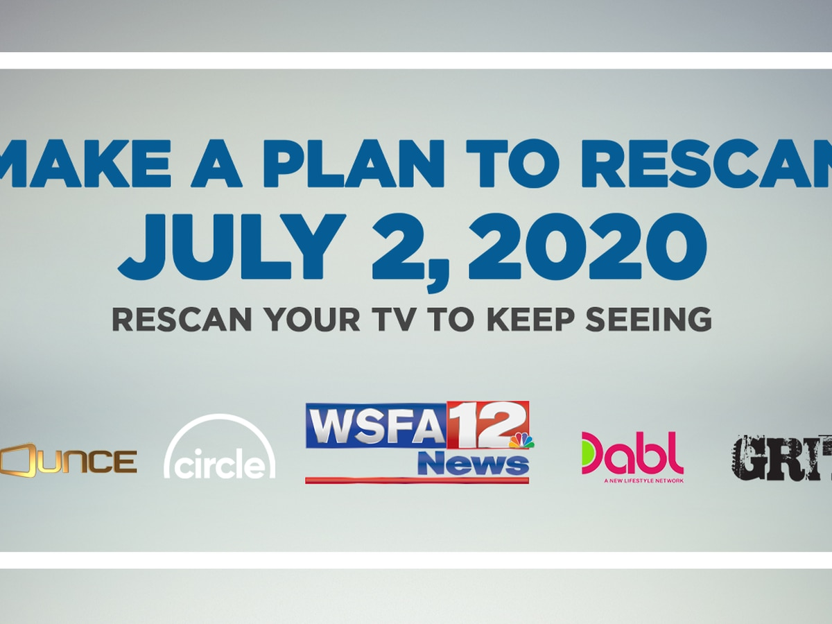 Watch WSFA 12 News with an antenna? Plan to rescan your TV