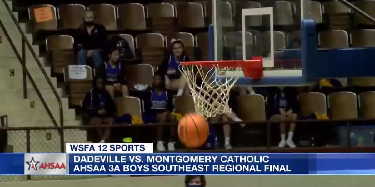 AHSAA 3A Boys Southeast Regional Final - Montgomery Catholic vs. Dadeville