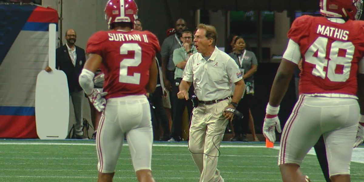 Nick Saban explains why he got an unsportsmanlike conduct penalty vs. Duke