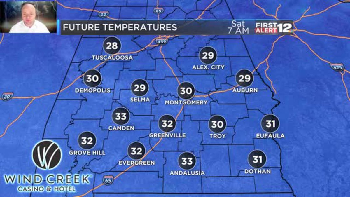 BRRRR: Cold tonight, cool tomorrow! Here are new numbers...