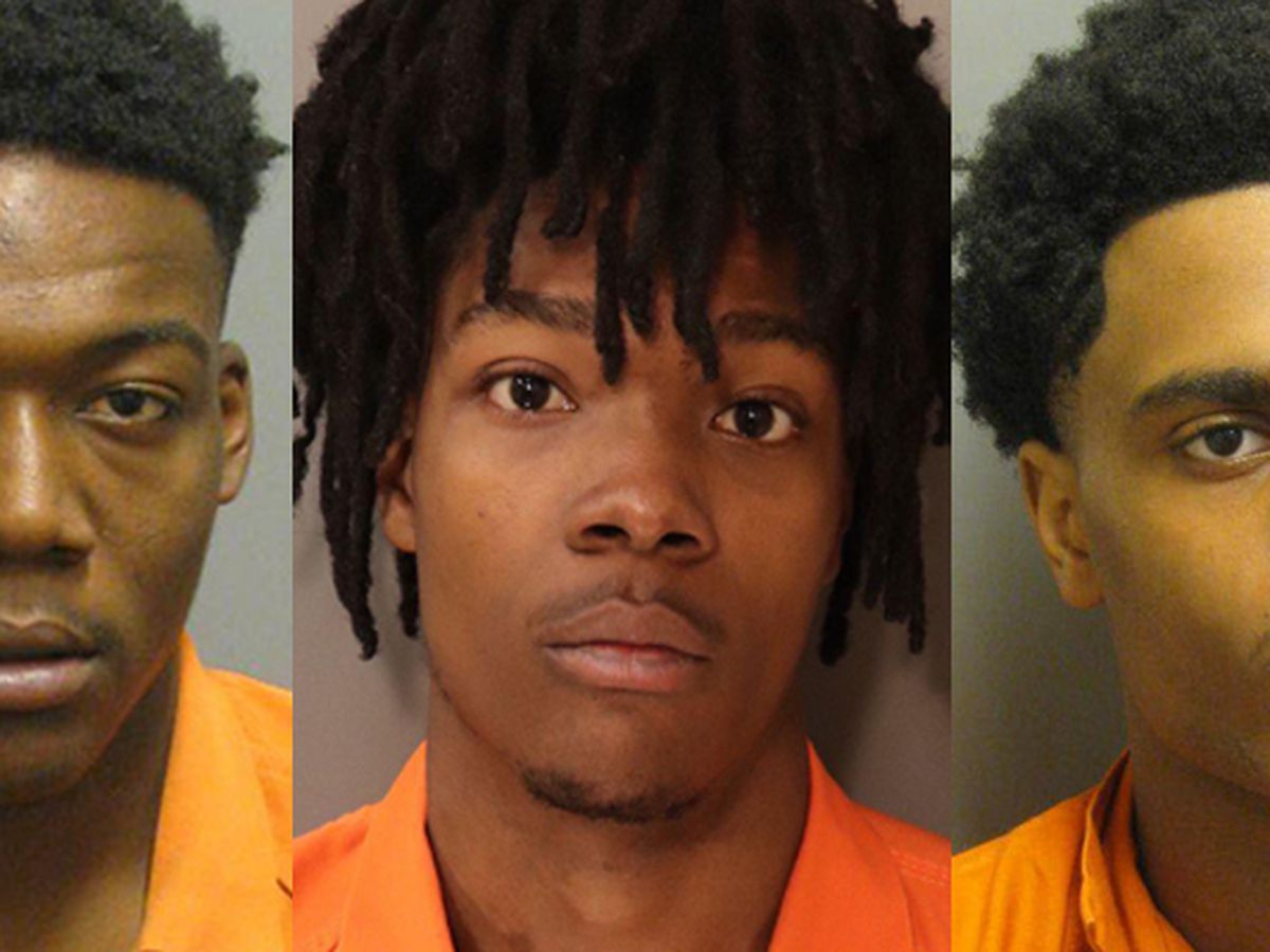 3 charged with over 200 felonies after vehicle break-ins