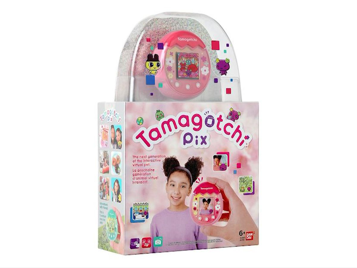 Tamagotchi Pix lets you take selfies with your virtual pet