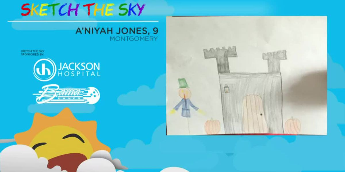 Sketch the Sky winner: A'Niyah Jones