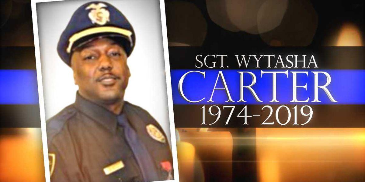 Funeral services set for slain Birmingham Police Sgt. Wytasha Carter